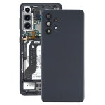 Battery Back Cover with Camera Lens Cover for Samsung Galaxy A32 4G(Black)