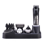 VGR V-012 5W 6 in 1 Electric Hair Clipper, Plug Type: EU Plug