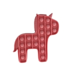 5 PCS Child Mental Arithmetic Desktop Educational Toys Silicone Pressing Board Game, Style: Pony (Pink)