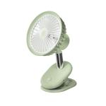 BP35 Clip 360-degree Rotating Student Dormitory Desktop Fan(Green)