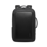 BANGE BG-S56 Waterproof Men'S Travel Backpack Large-Capacity Business Computer Backpack(Black)