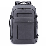 BANGE BG-1918 Computer Shoulders Bag Men Waterproof Outdoor Travel Backpack, Size: 20 inch(Gray)