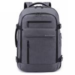 BANGE BG-1919 Computer Shoulders Bag Men Waterproof Outdoor Travel Backpack, Size: 22 inch(Gray)