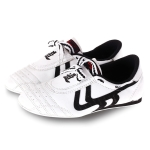 Weirui Taekwondo Shoes Men And Women Tendon Sole Training Shoes, Random Style Delivery, Size: 30(White )