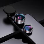 Wide Angle + Macro Mobile Phone Lens Professional Shooting External HD Camera Set