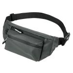 WEIXIER 8202 Waterproof Waist Bag Men Fashion Chest Bag Casual Outdoor Sports Messenger Bag(Army Green)