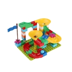 Multifunctional Building Table Learning Toy Puzzle Assembling Toy For Children, Style: 76 Blocks