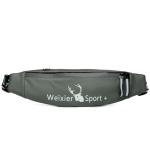 WEIXIER 9561 Sports Running Waist Bag Mobile Phone Bag Multifunctional Outdoor Waterproof Small Pocket(Green)