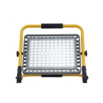 100W  LED Rechargeable Emergency Light Night Market Ultra Bright Waterproof Flood Light, EU Plug(Cold White Light)