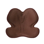 Petal Beautiful Buttocks Correction Seat Cushion Sedentary Waist Guard Anti-Hunchback Cushion, Size: Free Size(Brown)