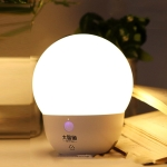 INETFISH DZY2021 Voice Smart Night Light Bedroom LED Eye Protection Desk Lamp Wireless Remote Control Bedside Lamp(Night Pearl Off-line Voice)