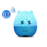WE2121 Music Starry Pig Projection Night Light With Sleeping Light, Light color: Bluetooth Blue
