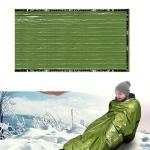 Outdoor Adventure Climbing Camping Warm Sleeping Bag(Green)