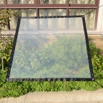Balcony Windows Transparent Rainproof Cloth Plants Insulation Anti-Bird Thick Windshield, Specification: 2×1.8m Soft Glass