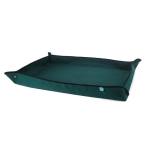 Balcony Green Planting Pots Change Soil Operation Floor Mats Home Planting Mix Soil Shifting Water Seepage Mat, Specification: 110x75cm