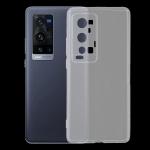 For vivo X60 Pro+ 5G 0.75mm Ultra-thin Transparent TPU Soft Protective Case(Transparent)
