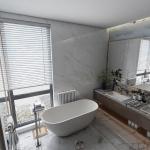 [US Warehouse] Acrylic Alcove Oval Freestanding Soaking Bathtub, Size: 66.98 x 29.55 x 22.85 inch