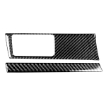 2 in 1 Car Carbon Fiber Headlight Switch Panel Decorative Sticker for Honda Civic 8th Generation 2006-2011, Left Drive