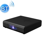 H200 960P 3000 Lumens 2.4G / 5G Wifi + Bluetooth Smart 3D Projector with Infrared Remote Control, Support Android 6.0 System(Black)