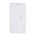 For Xiaomi Poco F3 idewei Crazy Horse Texture Horizontal Flip Leather Case with Holder & Card Slots & Wallet(White)