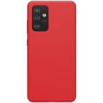 For Samsung Galaxy A52 5G NILLKIN Feeling Series Liquid Silicone Anti-fall Mobile Phone Protective Case(Red)