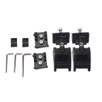 A5314 Car Hood Lock Kit for Jeep Wrangler JK Unlimited 2007-2017