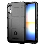 For Sony Xperia Ace 2 Full Coverage Shockproof TPU Case(Black)