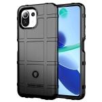 For Xiaomi Mi 11 Lite Full Coverage Shockproof TPU Case(Black)