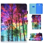 Painted Pattern TPU Horizontal Flip Leather Protective Case For Samsung Galaxy Tab A 10.1 (2016)(Forest)