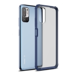 For  Xiaomi Redmi Note 10 5G Four-corner Shockproof TPU + PC Protective Case(Blue)