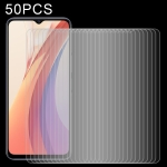 For vivo iQOO Z3 50 PCS 0.26mm 9H 2.5D Tempered Glass Film