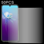 For vivo V20 2021 50 PCS 0.26mm 9H 2.5D Tempered Glass Film