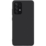 For Samsung Galaxy A52 4G / 5G NILLKIN Synthetic Fiber Anti-slip PC Protective Case(Black)