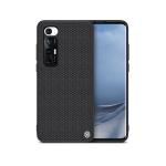 For Xiaomi Mi 10S NILLKIN 3D Textured Nylon Fiber TPU Case(Black)