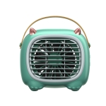 WK WT-F19 Little Monster Water Cooling Fan Desktop Fan (Green)