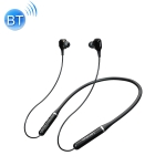 Original Lenovo XE66 Intelligent Noise Reduction 8D Subwoofer Magnetic Neck-mounted Sports Bluetooth Earphone, Support Hands-free Call (Black)