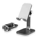 T6 Phone Lazy Bracket Foldable Desktop Holder(Black)