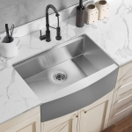 [US Warehouse] Stainless Steel Single Bowl Kitchen Sink with Chopping Board, Size: 30 x 22 x 9 inch