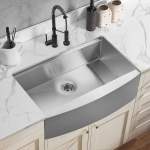 [US Warehouse] Stainless Steel Single Bowl Kitchen Sink with Chopping Board, Size: 33 x 22 x 9 inch