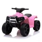 [US Warehouse] Small Single-wheel Drive ATV with LED Light (Pink)
