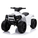 [US Warehouse] Small Single-wheel Drive ATV with LED Light (White)