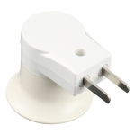 E27 Socket Type Light Holder Base Lamp Holder Converter with Switch, US Plug / AU Plug