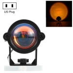 3W Mini Atmosphere Lamp for Decoration / Photography, Light Color: Sunset Red, US Plug