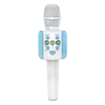 L858 Bluetooth 4.2 Karaoke Live LED Colorful Lights Wireless Bluetooth Condenser Microphone (Blue)