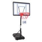 [US Warehouse] Adjustable PVC Transparent Board Basketball Hoop