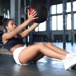 [US Warehouse] 20lbs PVC Fabric Strength Training Soft Medicine Ball Kettlebell