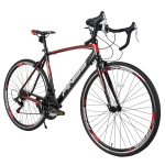 [US Warehouse] FINISS 700C 21-speed Aluminum Road Bike(Red)