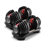 [US Warehouse] A Pair 5-52.5 lbs Heavy Duty Adjustable Dumbbell Muscle Training Fitness Equipment