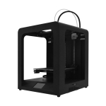 [US Warehouse] 3.5 inch Touch Screen Auto-leveling Pause Resume Printing Desktop 3D Printer with Crystal Glass Platform