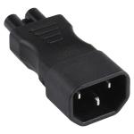C5 to C14 AC Power Plug Adapter Converter Socket